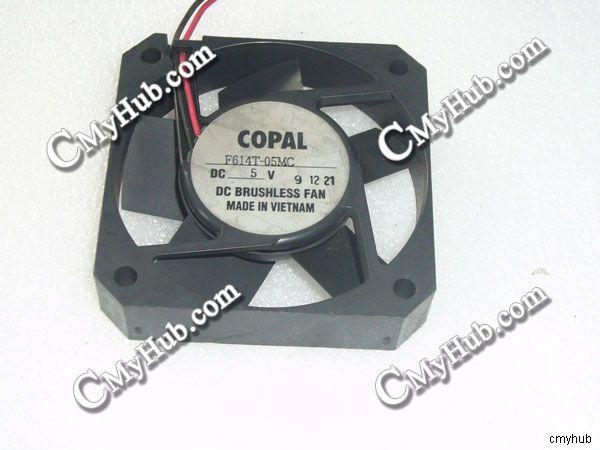 COPAL F614T-05MC DC5V 6215 6.2CM 62mm 62x62x15mm 2Pin Cooling Fan