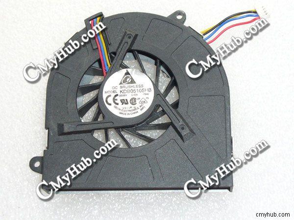 1 Pcs DELTA Fan KDB05105HB DC 5V 0.40A 4 Pin