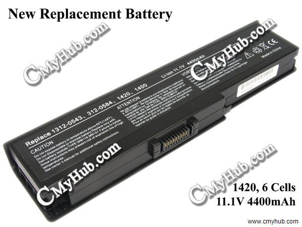Dell Inspiron 1420 Vostro 1400 Battery Compatible 0WW116