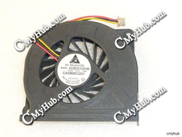 Fujitsu Lifebook SH760 SH560 T900 NH900 T730 DC5V 0.32A KDB05105HB Cooling Fan
