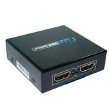 HDMI 1x2 1 way 1080P 3D Splitter Amplifier 1 in 2 out for Dual Dispaly